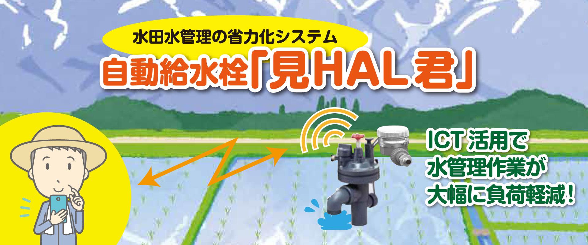 自動給水栓「見HAL君」